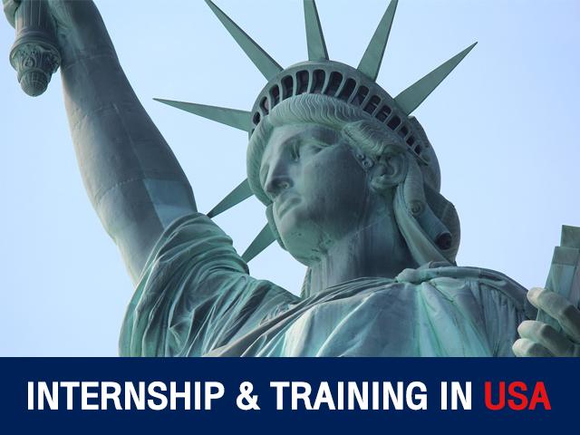 INTERNSHIP & TRAINING IN USA