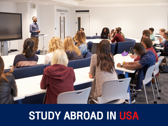 STUDY ABROAD IN USA