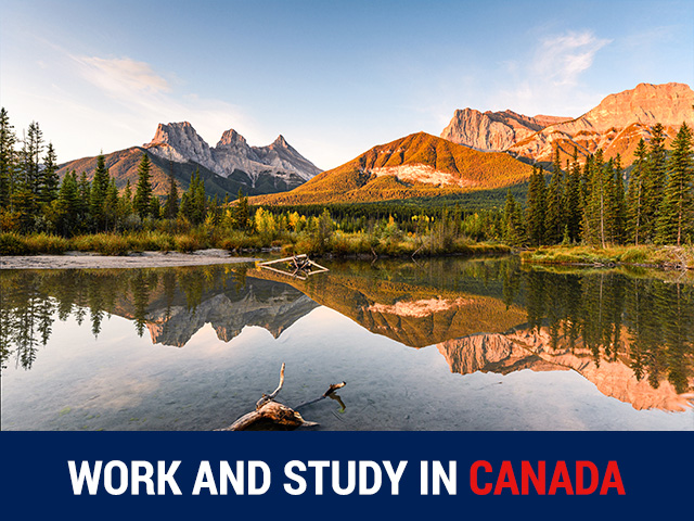 WORK & STUDY IN CANADA